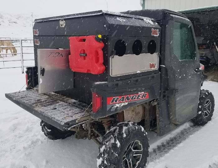 Polaris Ranger 800 900 Utility Box
