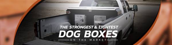 The Strongest & Lightest Dog Boxes